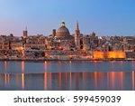 Panorama Of Valletta Skyline In ...
