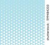geometric triangle halftone...   Shutterstock .eps vector #599484203