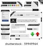 web design frame vector | Shutterstock .eps vector #59949964