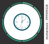 time icon vector. flat simple...