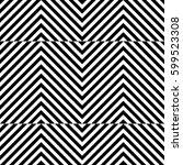 vector seamless pattern.... | Shutterstock .eps vector #599523308