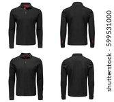 mens shirt with patterns... | Shutterstock . vector #599531000