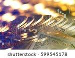 finance background with money...   Shutterstock . vector #599545178