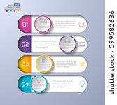 modern infographics diagram for ... | Shutterstock .eps vector #599582636