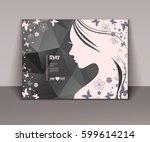 vector illustration of woman's...   Shutterstock .eps vector #599614214