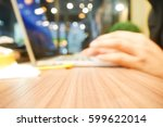 picture blurred  for background ... | Shutterstock . vector #599622014