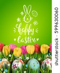 template vector card with... | Shutterstock .eps vector #599630060