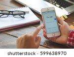 lamphun thailand   march 11 ...   Shutterstock . vector #599638970