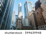 new york business center... | Shutterstock . vector #599639948