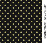 seamless dot pattern. cloth... | Shutterstock .eps vector #599643239
