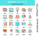 vector set of design and...