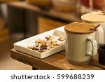 white ceramic mug  | Shutterstock . vector #599688239