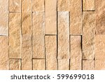 Wall Built Of Natural Stone....