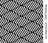 seamless vector abstract... | Shutterstock .eps vector #599750546