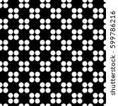 seamless geometrical pattern.... | Shutterstock .eps vector #599786216