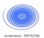 colored circles on  background... | Shutterstock . vector #599792780