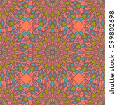 seamless pattern with...   Shutterstock . vector #599802698