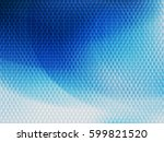 abstract vector background with ... | Shutterstock .eps vector #599821520