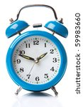 Old Fashioned Alarm Clock On...