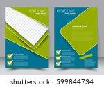 brochure template. business...   Shutterstock .eps vector #599844734