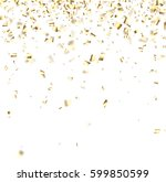 white festive background with... | Shutterstock .eps vector #599850599