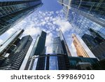 skyscrapers  modern business... | Shutterstock . vector #599869010