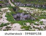 ruins of roman amphitheater in...