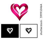 heart logo | Shutterstock .eps vector #599910464