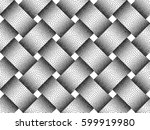 vector seamless decorative... | Shutterstock .eps vector #599919980