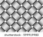vector seamless decorative... | Shutterstock .eps vector #599919980