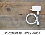 charger for smartphone or... | Shutterstock . vector #599920046