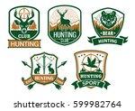 Hunting Club Icons. Hunter...