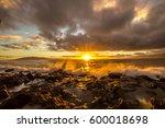 maui sunset | Shutterstock . vector #600018698