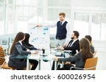 business team gives a...   Shutterstock . vector #600026954