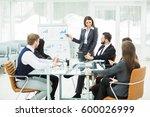 business team gives a...   Shutterstock . vector #600026999