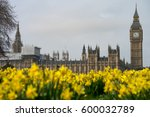 big ben and the palace of... | Shutterstock . vector #600032789