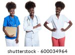 African American Woman As Nurs...