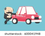 concept car loans | Shutterstock .eps vector #600041948