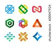 vector design elements for your ... | Shutterstock .eps vector #600047924
