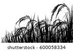 vector silhouette illustration... | Shutterstock .eps vector #600058334