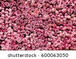 Flowers Wall Background With...