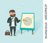 successful business story... | Shutterstock .eps vector #600109619