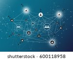 connection technologies for... | Shutterstock .eps vector #600118958