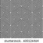 vector seamless geometric... | Shutterstock .eps vector #600126464