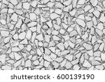 Stone Mosaic Texture Black And...
