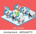 isometric flat 3d isolated... | Shutterstock . vector #600166973