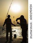 fishermen at the bosporus