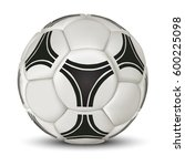 Realistic Soccer Ball Or...