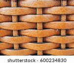 close up weave leather texture... | Shutterstock . vector #600234830