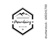 mountains logos badges and...